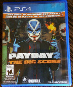 Jogo Ps4 Payday 2,good Of War 3,the Last Of Us