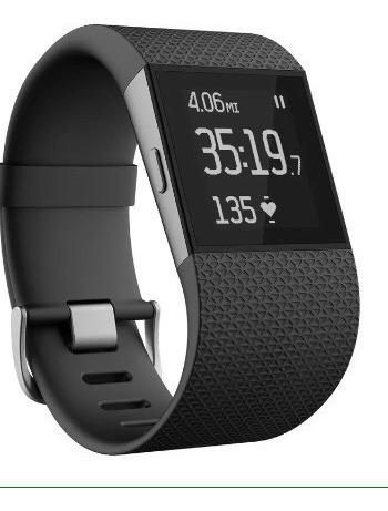 Relógio Fitbit Surge - Cor Preto - Tam Grande