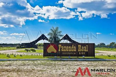 Vt00923 Terreno Condominio Fazenda Real I
