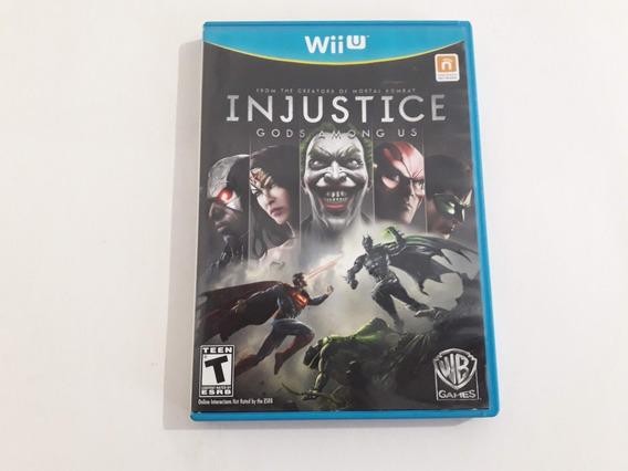 Wii U Injustice Gods Among Us Funcionando 100% #937
