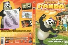 Karate Panda, Pelicula Para Niños Original Dvd