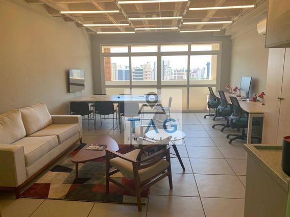 Sala Para Alugar, 50 M² Por R$ 1.800,00/mês - Botafogo - Campinas/sp - Sa0044