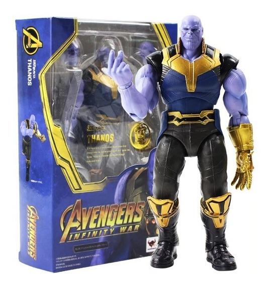 Boneco Thanos Shfiguarts Vingadores Guerra Infinita Marvel