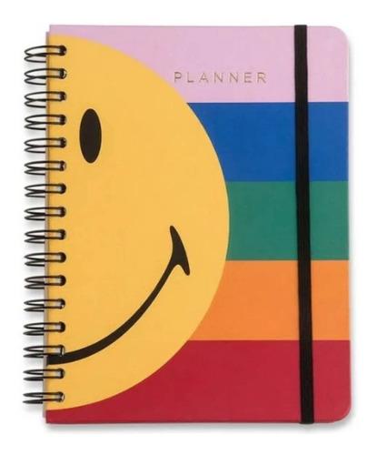 Agenda Planner  Smiley Listras Semanal - A5 Wire-ô - Cicero