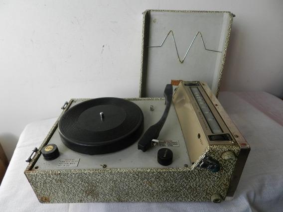 Radio Vitrola Portátil