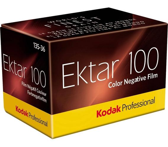 Filme Kodak Profissional Ektar 100 36 Exp 35mm Venc 06/2020