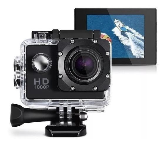 Mine Câmera Hd 1080p 30m Câmera Impermeável Sports Ação