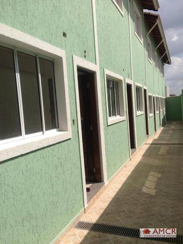 Imagem 1 de 11 de 2 Unidades Sobrando! Sobrados Com 2 Dormitórios À Venda, 61 M² Por R$ 295.000 - Penha De França - São Paulo/sp - So0657