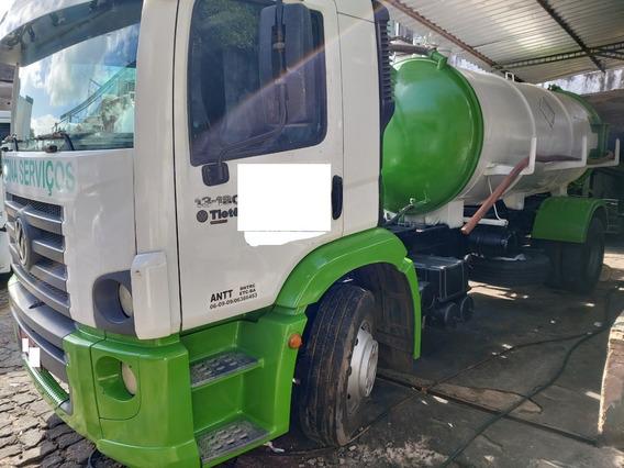 Caminhão Limpa Fossa Vw 13.180 Cnm 2011