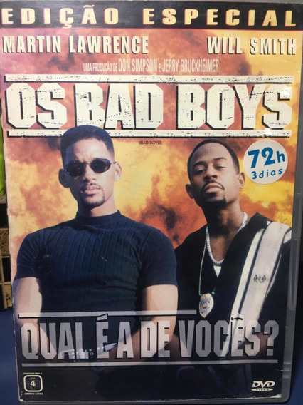 Bad Boys- Dvd Original - Rf7