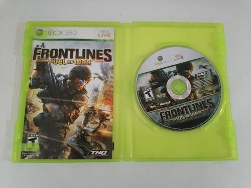 Imagen 1 de 2 de Frontlines Fuel Of War Xbox 360