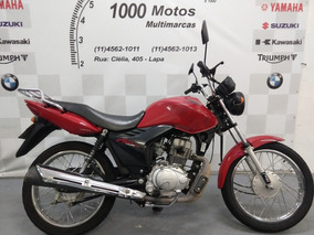 Honda Cg 125 Fan Es 2012 Otimo Estado Aceito Moto