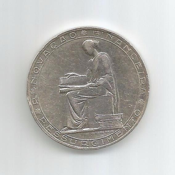 Portugal - Moeda De Prata, 20 Escudos, 1953, Sob/fc - Rara