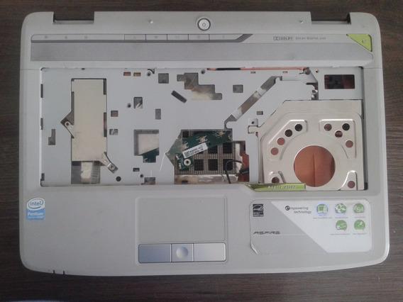 Carcaça Inferior Com Tampa+touch+placa De Botões Acer 4720z