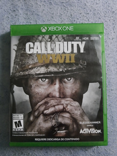 Juego Original Para Xbox One, Call Of Duty Wwii