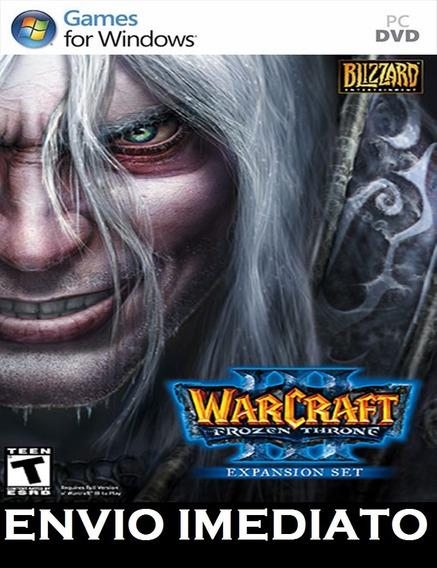 Warcraft 3 + Frozen Throne Br Pc - Mídia Digital + Brinde