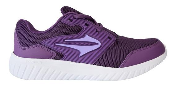 Zapatillas Topper Running Routine Violeta Mujer