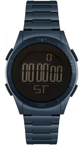 Relógio Technos Feminino Azul Metálico Original Garantia