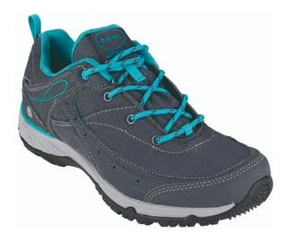 Zapatillas Borcego Hitec Mujer Equilib Bijou Low Impermeable