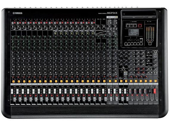 Mesa De Som Mixer Yamaha Mgp24x Analógica 24 Canais Bivolt