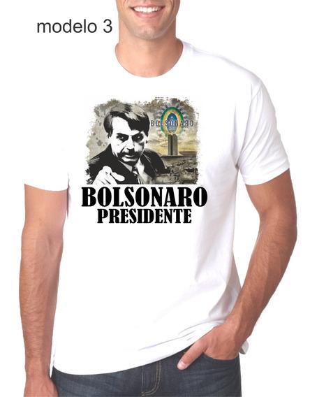 Camiseta Bolsonaro Brasão