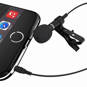 Microfone De Lapela Para Celular, Tablet E Notebook