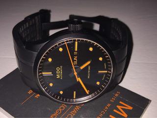 Reloj Mido Negro Automático