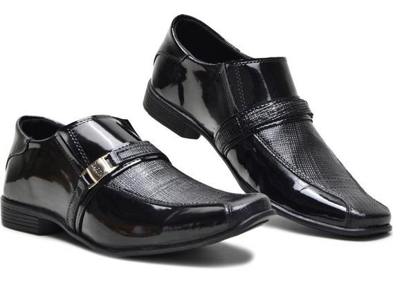 Sapato Masculino Social Em Couro De Amarrar Confortável Leve
