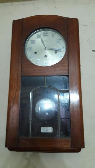 Reloj De Pared 3 Cuerdas Marca Junghans