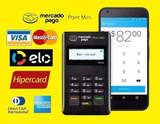 Maquina De Cartão De Credito E Debito. Original Mini Point
