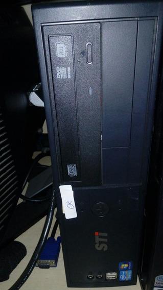 Computador Toshiba Desktop Intel Core I3 Com 4gb Ram