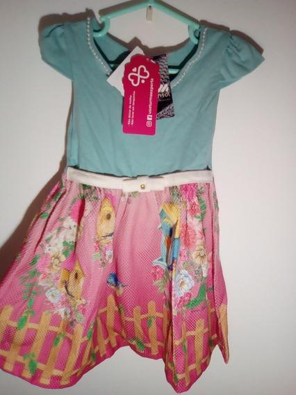 Vestido Infantil Replica Marisol