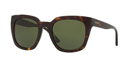 Dkny Mujer Acetato Mujer Cuadrado Gafas De Sol, Tortuga Osc