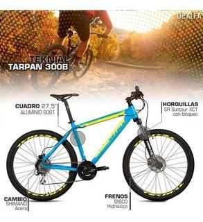 Bicicleta Mountain Bike Teknial Tarpan 300b 27.5 Hidraulico