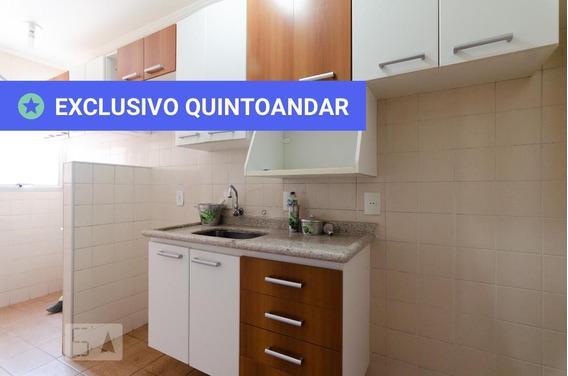 Apartamento No 4º Andar Com 1 Dormitório - Id: 892977181 - 277181