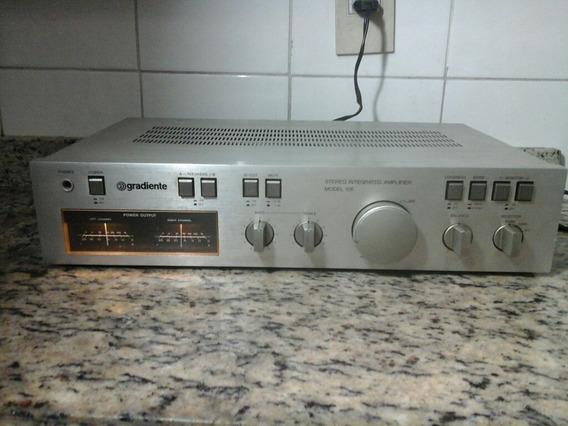 Amplificador Integrado Gradiente Model 126 Funciona Tudo Ok