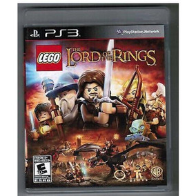 Lego Lord Of The Rings - Ps3 Lacrado
