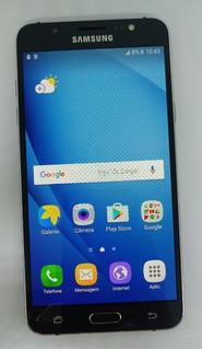 Samsung Galxy J7 J710mn/ds Metal 16gb Vitrine Burn-in Preto