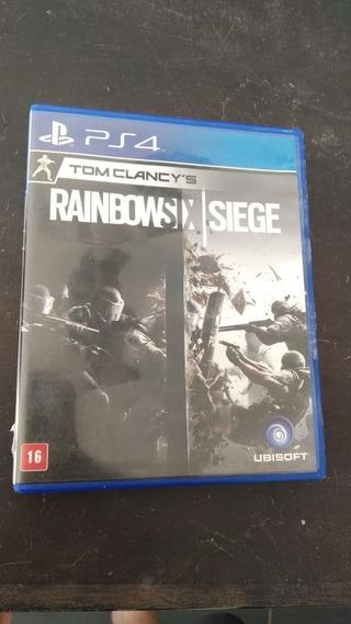 Rainbow Six Siege Ps4 Lacrado (frete 18 Reais)