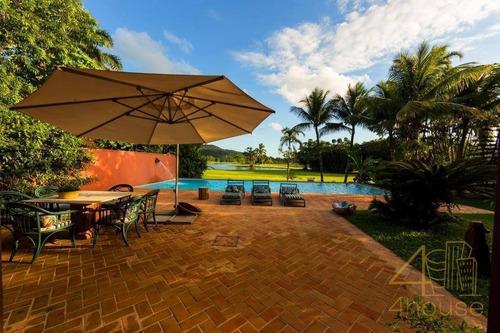 Imagem 1 de 27 de Mansão No Guarujá Golf Club, Av. Pernambuco, 471. São 576 M², 4 Suítes, Piscina E Jardim. Praia Do Pernambuco - Guarujá/sp - Ca0610
