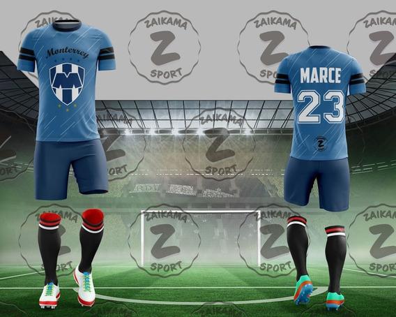 Camiseta Futbol 100% Personalizadas Full Print