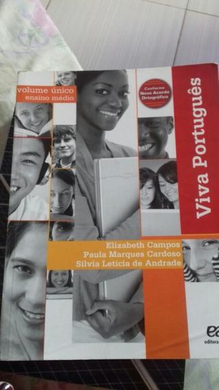 Viva Português Ática Ed 2013 Volume Unico Elizabeth Campo