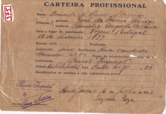 Raro: Antigo Documento 1933