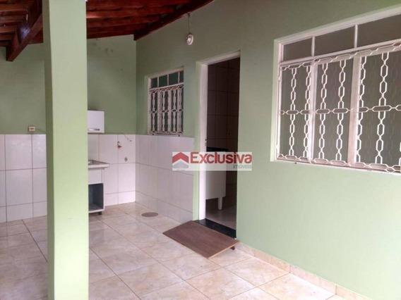 Casa Com 2 Dormitórios Para Alugar, 120 M² Por R$ 1.300/mês - Parque Dos Servidores - Paulínia/sp - Ca1564
