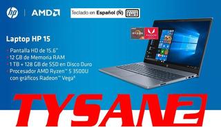 Notebook Hp Amd Ryzen 5 12g 1tb + 128ssd Ñ En Stock Ya!!!!!