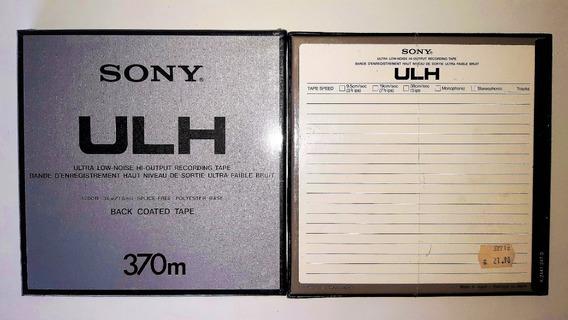 Fita Gravador De Rolo Sony Ulh72 ¼ 1200pés 7p Nova Selada