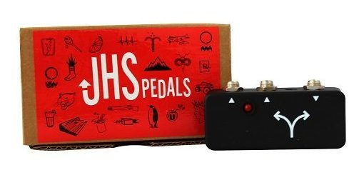 Pedal Jhs Buffered Splitter Single In/dual Out + Fonte Novo