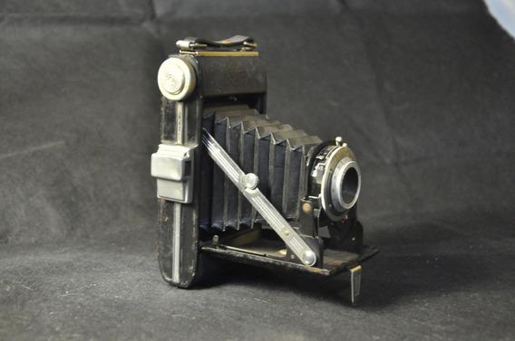 Câmera Fotográfica Agfa Billy I Antiga Coleção