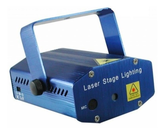 Mini Laser Stage Light Bivolt Apenas R$ 75,00