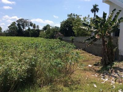 Excelente Terreno En Venta En La Vega, Santo Domingo